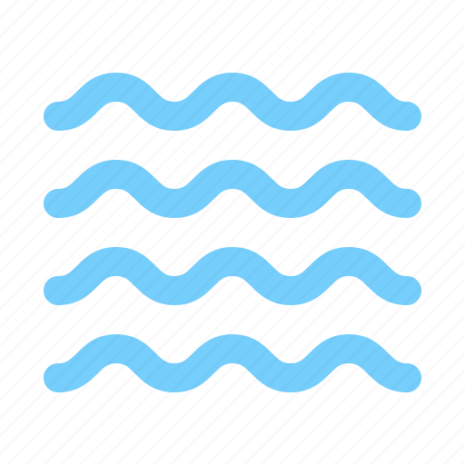 fresh, river, sea, summer, water, waves icon