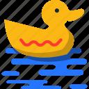 duck, summer icon