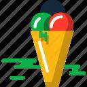cream, ice, summer icon
