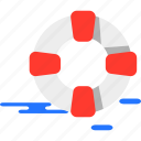 lifebuoy, summer icon