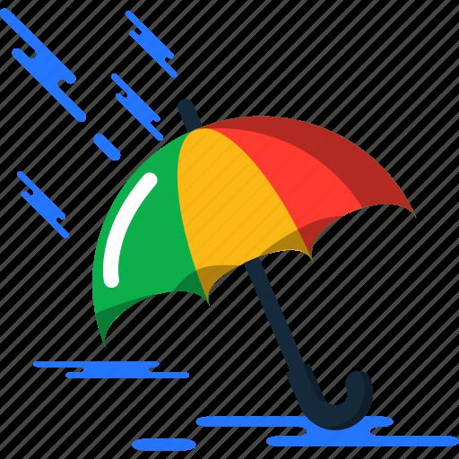 summer, umbrella icon