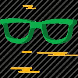glasses, summer icon