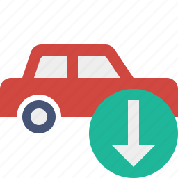auto, car, download, traffic, transport, vehicle icon
