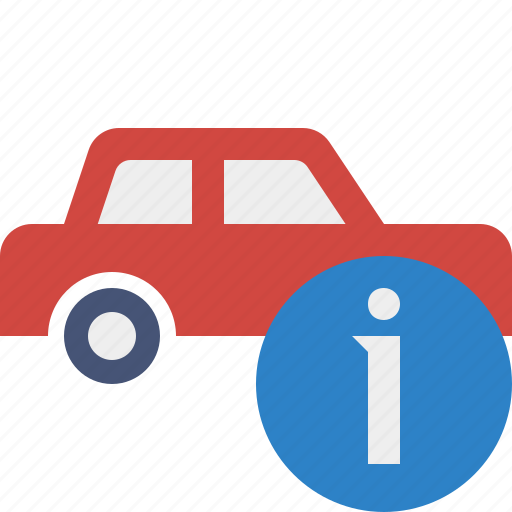 auto, car, information, traffic, transport, vehicle icon