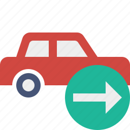 auto, car, next, traffic, transport, vehicle icon
