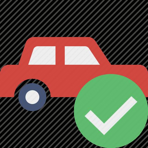 auto, car, ok, traffic, transport, vehicle icon