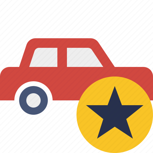 auto, car, star, traffic, transport, vehicle icon