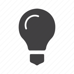 bright, bulb, idea, light, source icon