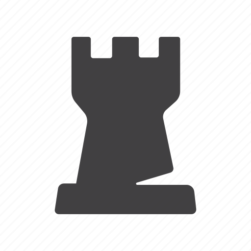building, castle, chess, fort, fortress, rook, tower icon