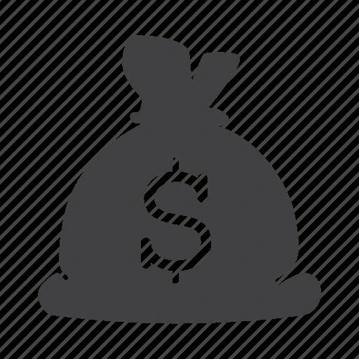 bag, dollar, economy, finance, financial, money icon