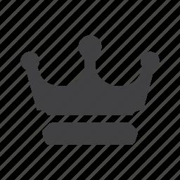 crown, king, premium, queen, royal icon