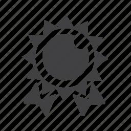 achievement, award, badge, review, reward icon