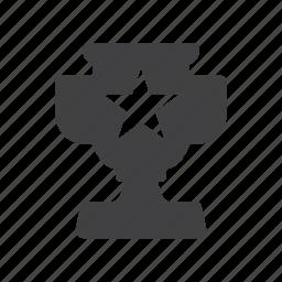 achievement, award, cup, leaderboard, prize, reward icon