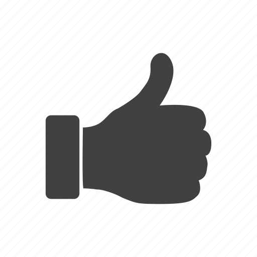 approve, favorite, hand, like, thumbs, up icon