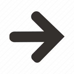 arrow, direction, location, marker, navigation, next, right icon