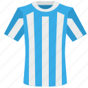 argentina, colors, football, national, shirt, team, uniform icon