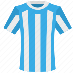 argentina, colors, football, national, shirt, team, uniform icon