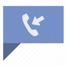 call, comment, dialog, message, phone, poi, ring icon