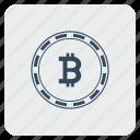 bank, bitcoin, coin, money, value icon