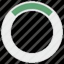 circle, green, load, loader, loading, progress, round icon