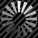 load, loader, loading, progress, ui icon