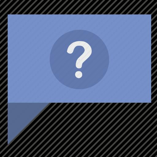 comment, dialog, message, quest, question icon