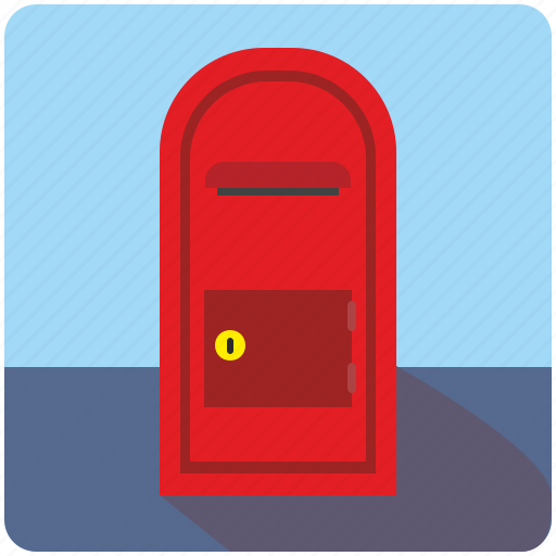 box, mail, post, postbox, safe, service, stand icon