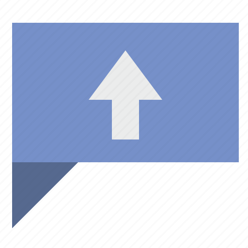 comment, dialog, message, top, up icon