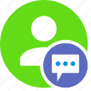 chat, comments, human, people, person, user
