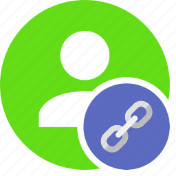 human, link, network, people, person, user icon