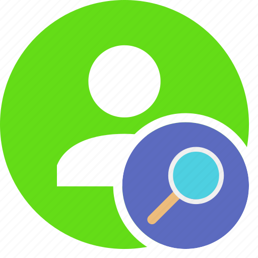 find, human, people, person, search, user icon