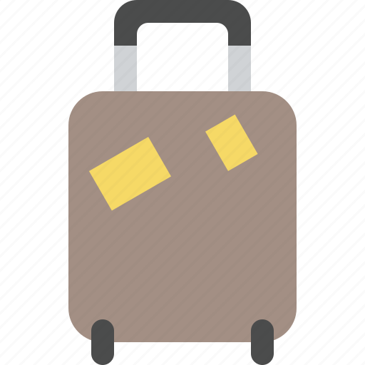 Baggage, travel, luggage, vacation, bag, suitcase icon