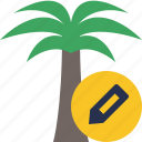 edit, palmtree, travel, tree, tropical, vacation