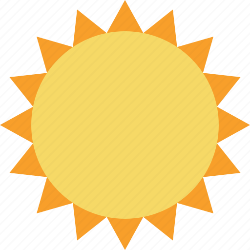 summer, sun, sunny, travel, vacation, weather icon