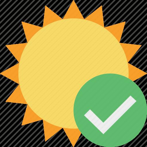 ok, summer, sun, sunny, travel, vacation, weather icon
