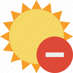 stop, summer, sun, sunny, travel, vacation, weather icon