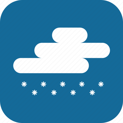 Day, snow, snowing, weather icon - Download on Iconfinder