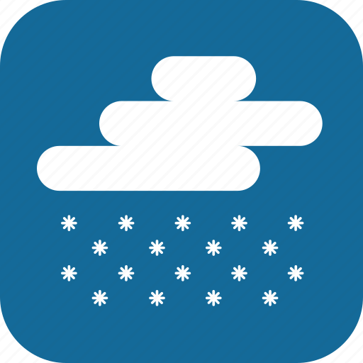 blizzard, day, heavy snow, snow, snowing, weather icon