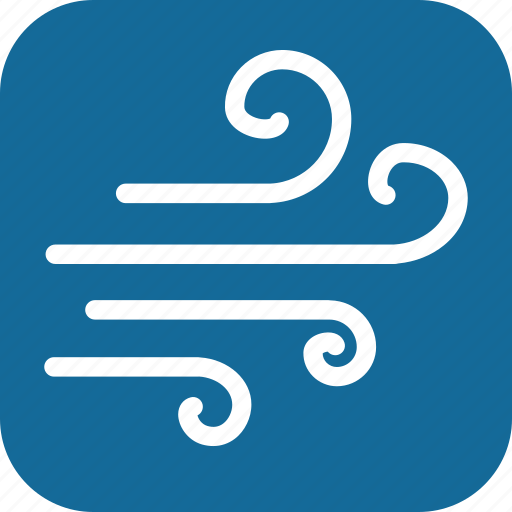 day, weather, wind, windy icon
