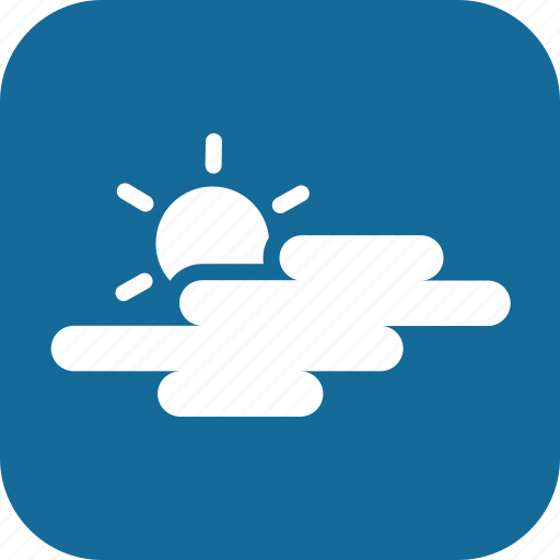 cloudy, day, mostly cloudy, partially cloudy, weather icon