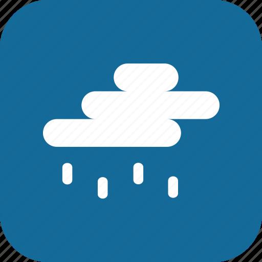 day, light rain, rain, raining, weather icon