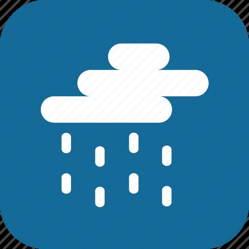 day, medium rain, rain, raining, weather icon