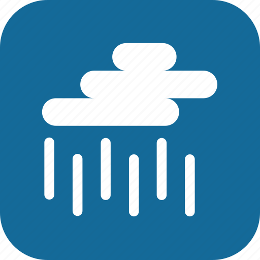 day, heavy rain, rain, raining, storm, weather icon