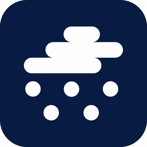 hail, night, storm, weather icon