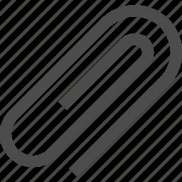 attach, attachment, clip, paper clip, paperclip, trigonal clip icon