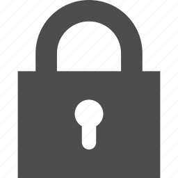 lock, locked, login, password, protection, safe, secure, security, sign in icon