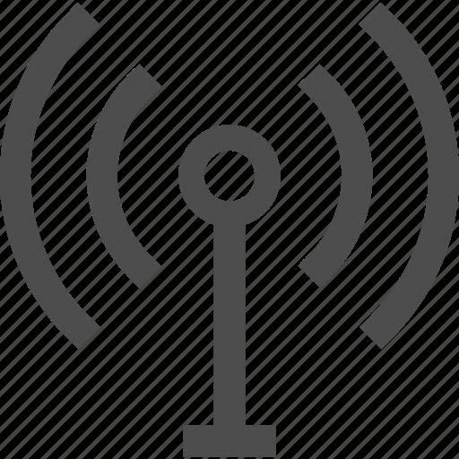 antenna, broadcast, network, signal, transmit, transmitter, wi-fi, wifi, wireless icon