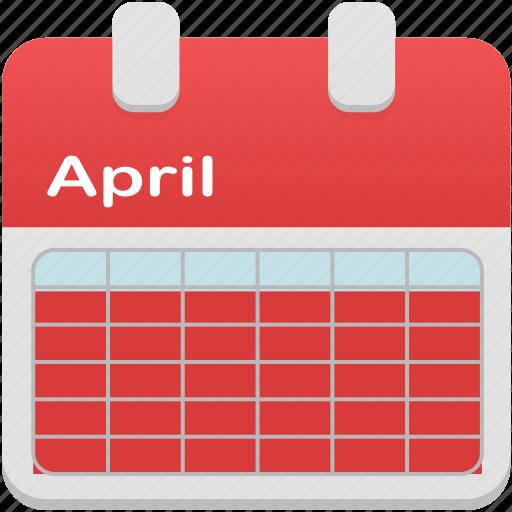 calendar, month, selection icon