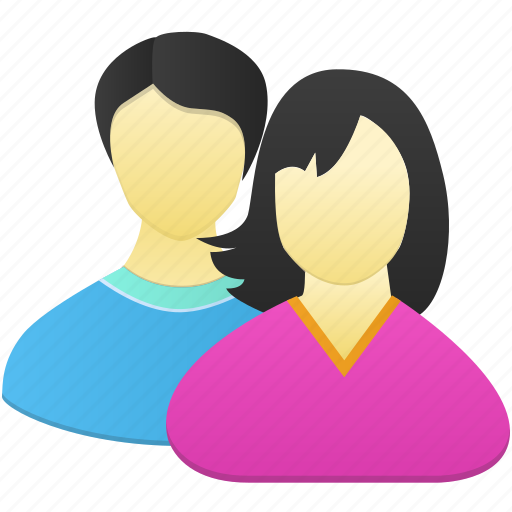 Couple, man, woman icon - Download on Iconfinder