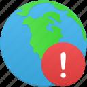 globe, warning